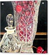 Cherries Jubilee Acrylic Print