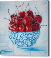 Cherrismatic Bowl Acrylic Print