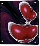 Cherry Wood Acrylic Print