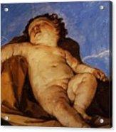 Cherub Sleeps 1627 Acrylic Print