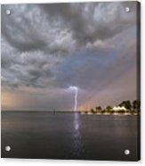 Chesapeake Bay Rainbow Lighting Acrylic Print