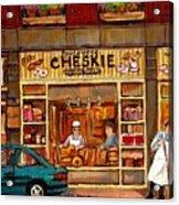 Cheskies Hamishe Bakery Acrylic Print