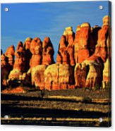 Chesler Park Sandstone Towers Acrylic Print