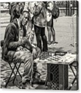 Chess Player Acrylic Print