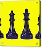 Chessmen Acrylic Print