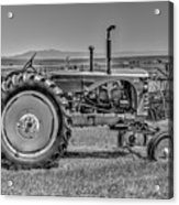 Chesterfield Tractor Acrylic Print