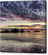 Chesterman Beach Sunset Acrylic Print