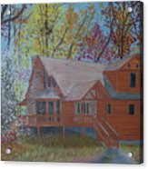 Chestnut Hills Acrylic Print