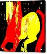 Cheval Du Cirque De Monaco Acrylic Print
