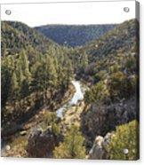 Chevelon Canyon Acrylic Print