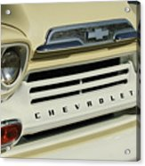 Chevrolet Apache 31 Fleetline Front End Acrylic Print