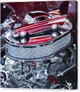 Chevrolet Bel-air Matchbox Car Acrylic Print