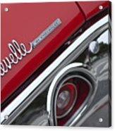 Chevrolet Chevelle Ss Taillight Emblem 2 Acrylic Print