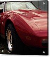 Chevrolet Corvette 1977 Acrylic Print
