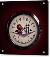 Chevrolet Corvette, Corvette Logo Acrylic Print