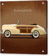 Chevrolet Fleetmaster 1947 Acrylic Print