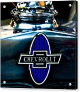 Chevrolet Hoodie Acrylic Print