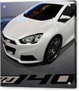 Chevrolet Tru 140s Concept Acrylic Print