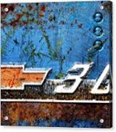 Chevy 3.0 Photomontage Acrylic Print