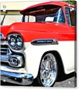 Chevy Apache Custom Hot Rod Truck Acrylic Print
