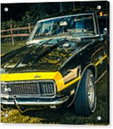 Chevy Camaro Acrylic Print