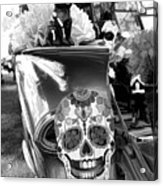 Chevy Decor Day Of Dead Bw Acrylic Print