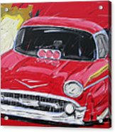 Chevy Drag Acrylic Print