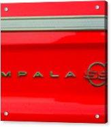 Chevy Impala Ss 237 Acrylic Print