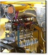 Chevy Motor Acrylic Print