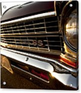 Chevy Nova Ss Acrylic Print by Cale Best