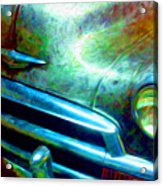 1953 Bel Air Chevy Project 2 Acrylic Print