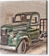 Chevy Truck Acrylic Print