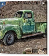 Chevy Truck Route 66 Acrylic Print