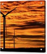 Cheyenne Sunrise Acrylic Print