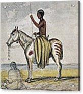 Cheyenne Warrior, 1845 Acrylic Print