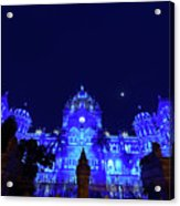 Chhatrapati Shivaji Terminus  Formerly Victoria Terminus In Mumbai-2 Acrylic Print