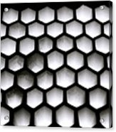 Chiaroscuro Geometry Acrylic Print