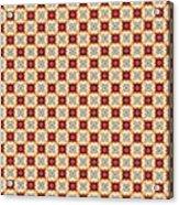 Chic Seamless Tile Pattern Acrylic Print