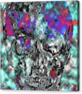Chic Skull Acrylic Print