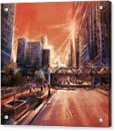 Chicaco Street 3 Acrylic Print