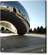 Chicago - Cloud Gate Reflection Acrylic Print