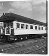 Chicago And North Western Business Car 1 Acrylic Print