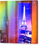 Chicago Art Institute Miniature Paris Room Pa Prismatic 08 Vertical Acrylic Print