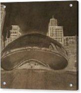 Chicago Bean Acrylic Print