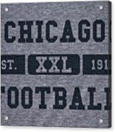 Chicago Bears Retro Shirt Acrylic Print