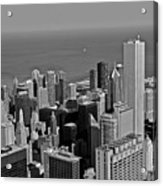 Chicago Birdview Acrylic Print