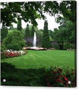 Chicago Botanical Gardens Landscape Acrylic Print