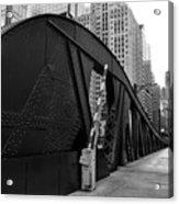 Chicago Bridge  Acrylic Print