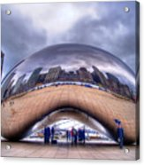 Chicago Cloud Gate Acrylic Print