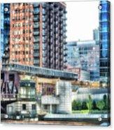 Chicago Cta Lake Street El In June Acrylic Print